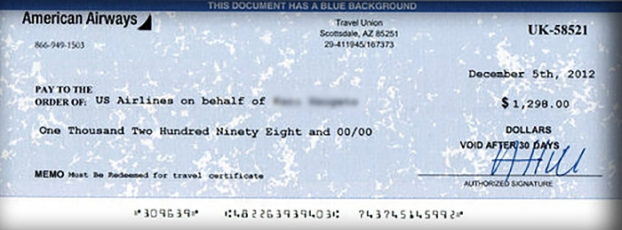 In This Case To Keep Themselves Out Of Any Legal Battles With The Real Airlines Travel Agencies Would Send Checks Invitations Vouchers Brands