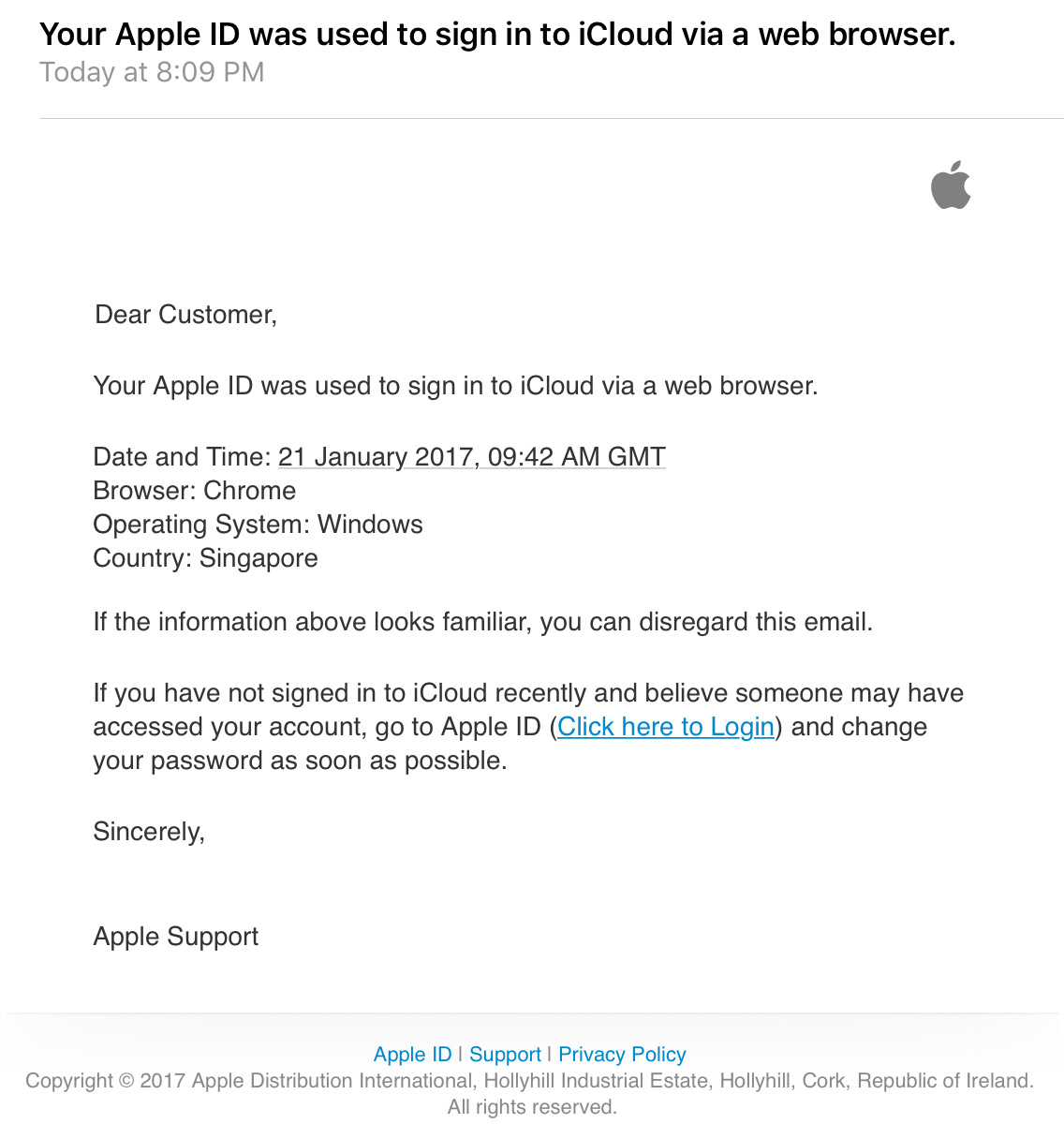 how to delete someones apple id without password