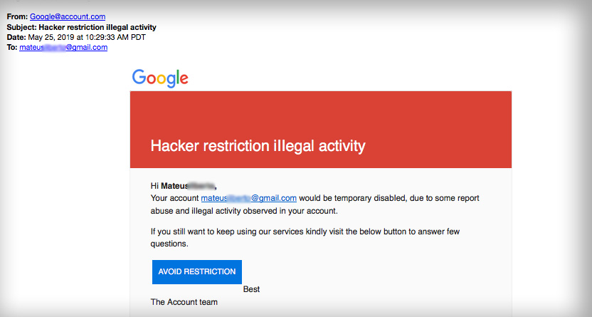 google restrictions