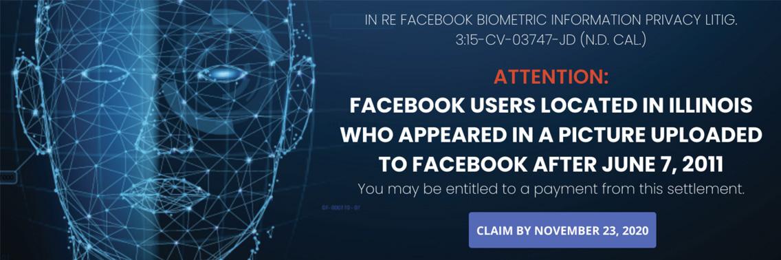 facebook biometric lawsuit
