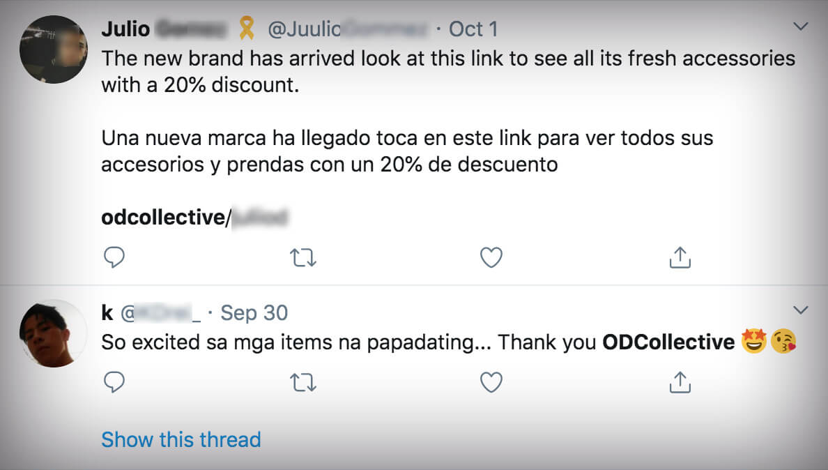 OD collective scam