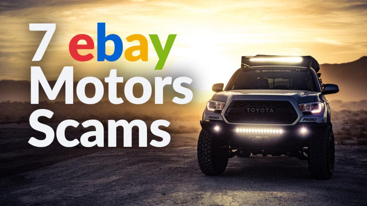 ebay motors scam